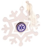 EMT Snowflake Christmas Ornament /Bookmark